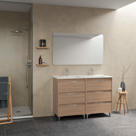 Mueble de baño SUKI seis cajones
