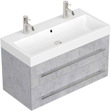 Mueble de baño Sunrise Gris hormigón