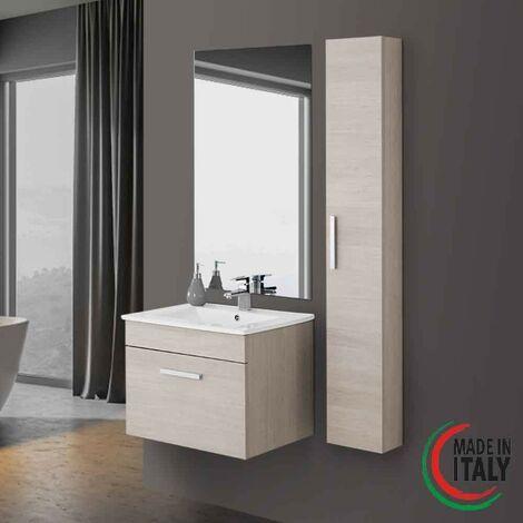 mueble de baño suspendido roble claro Feridras show 60   roble claro