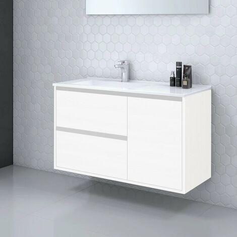 9a1357b0c2ce Mueble de Baño suspendido TAGUS - 100 cm de ancho