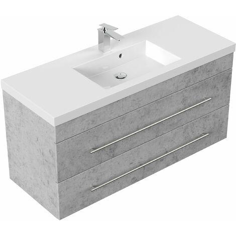Mueble de baño Versus Gris hormigón