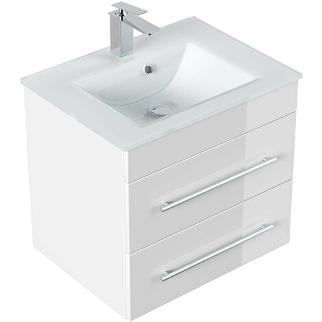 Mueble de baño Vitro Blanco brillante
