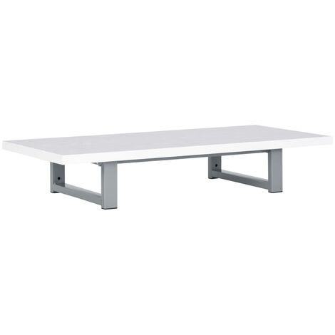 Mueble de cuarto de baño blanco 90x40x16,3 cm