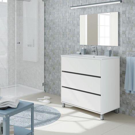 Mueble de lavabo Kalma 90 x 81,5 x 46,5 cm