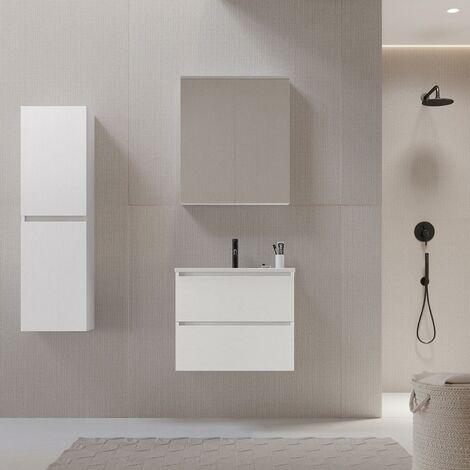 Mueble de lavabo LIMPIO 60 cm color blanco
