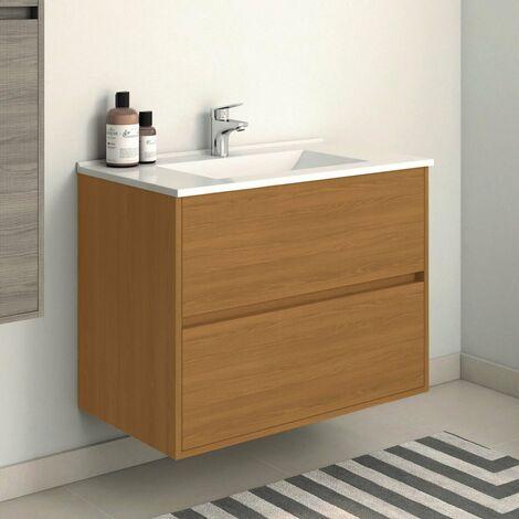 Mueble de Lavabo Suspendido SADO - 80 cm de ancho