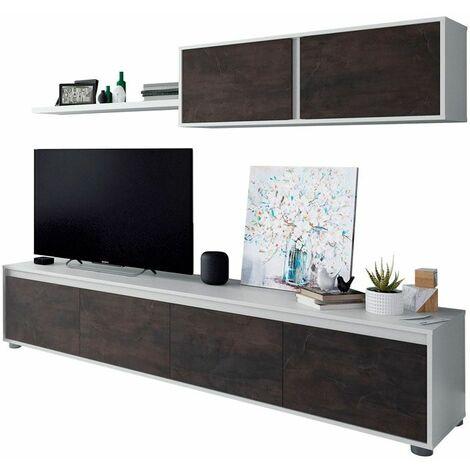 Mueble de salón melamina para TV Alida