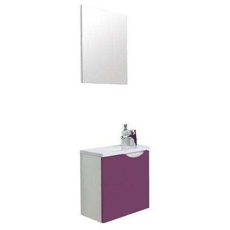 Mueble de baño de material compuesto