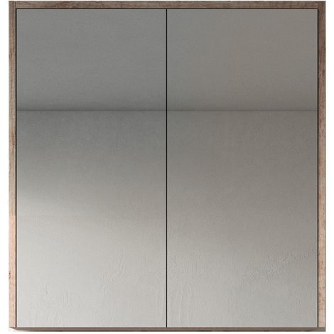 Mueble espejo Indiana 90cm - armario Mueble espejo Espejo baño Mueble baño Mueble de pared