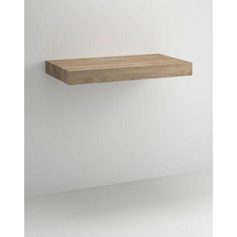 Mueble Flow Suspendido + lavabo Due | 70 cm - Pino Gris - Flow + Due - 60 cm