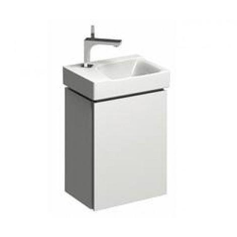 Mueble lavabo Geberit Xeno 2 Lavabo 807040 380x525x265mm, blanco, lacado brillante - 807040000