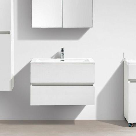 Mueble lavabo + lavabo 80cm MONTADO SIENA