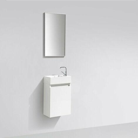 Mueble lavamanos + lavabo 40cm MONTADO SIENA