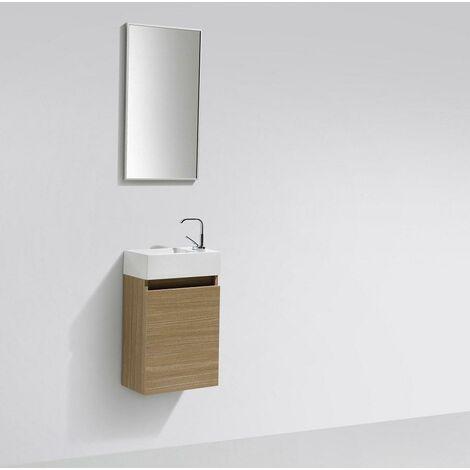 """main image of """"Mueble lavamanos + lavabo 40cm MONTADO SIENA"""""""