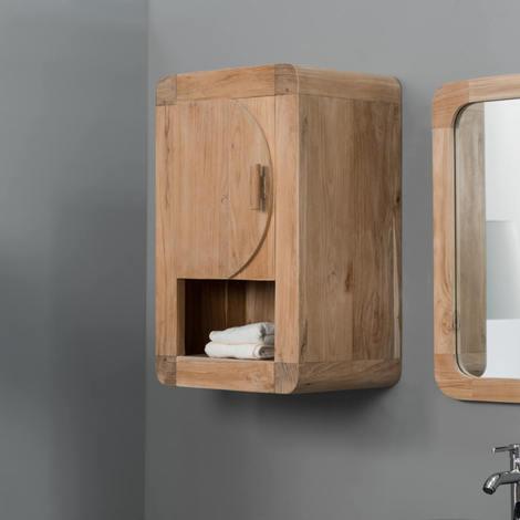 Mueble para cuarto de baño armario de baño de teca Retro 44 cm - 586_48