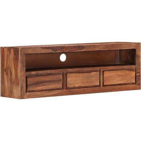 Mueble para TV 120x30x40 cm madera maciza de sheesham