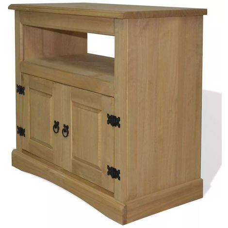 Mueble para TV Corona Range de pino mexicano 80x43x78 cm