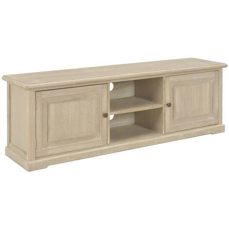 Mueble para TV de madera 120x30x40 cm