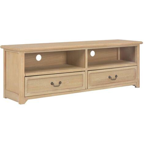Mueble para TV de madera 120x40x30 cm
