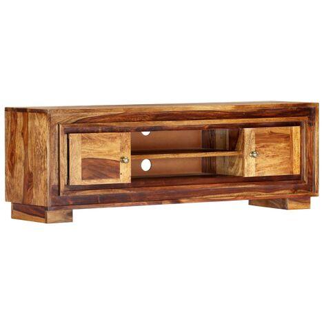 Mueble para TV de madera maciza de sheesham 118x30x40 cm