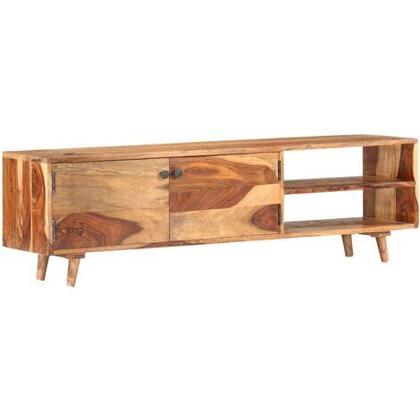 Mueble para TV madera maciza de sheesham 140x30x40 cm