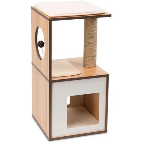 Mueble Rascador Para Gato V-BOX Pequeño Vesper