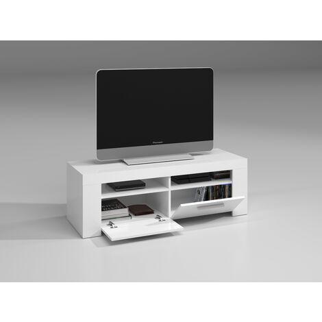 Mueble TV Blanco Artik 120x40x42 cm