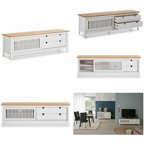 Mueble TV Kuma Madera/Blanco