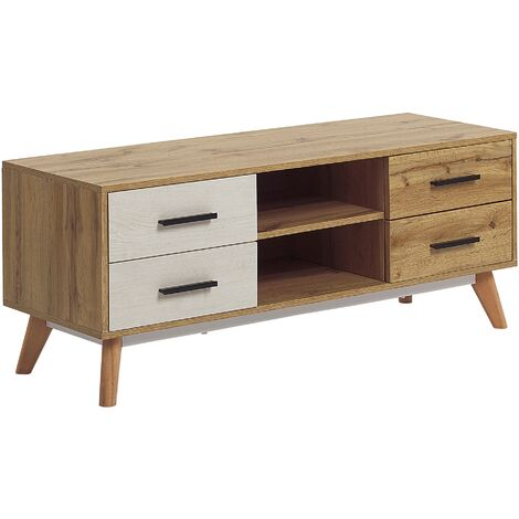 Mueble TV madera clara FLORIDA