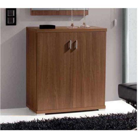 Mueble zapatero 4 estantes interiores 3 colores combinados