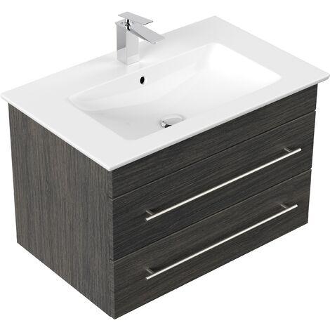 muebles de baño Villeroy & Boch Venticello lavabo 80 cm Antracita vetado