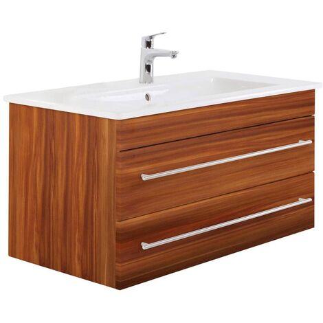 muebles de baño Villeroy & Boch Venticello lavabo 80 cm Nuéz