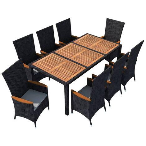 conjunto de muebles de jardín y terraza