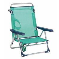 a9fadca69 Silla Playa Cama Alco Aluminio Azul Con Asa