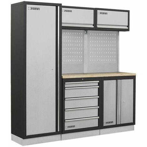 Muebles modulares para el taller FERVI A007C