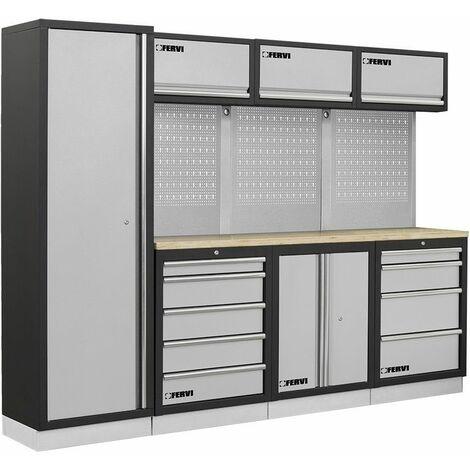 Muebles modulares para el taller FERVI A007D
