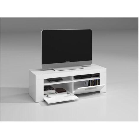 Muebles TV - Mueble TV Blanco 120 cm Tunner