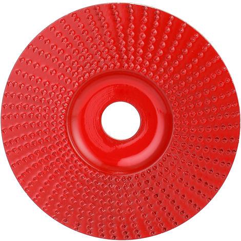Muela abrasiva angular de madera de acero n.o 45, para amoladora angular, con diametro interior de 16 mm