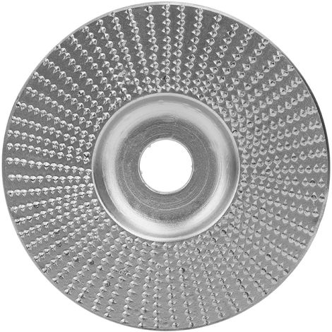 "Muela abrasiva de madera, bisel, Dorado, diametro interno de 5/8"", diametro exterior de 100mm"