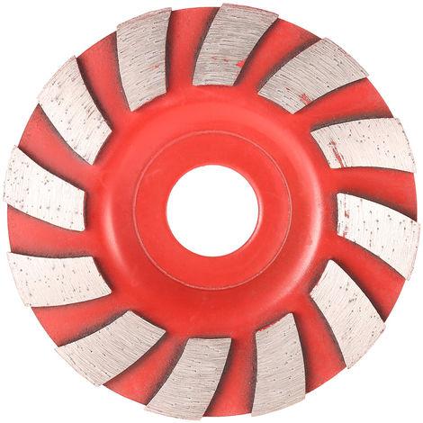 "Muela abrasiva de segmento de diamante, agujero interno de 20 mm, 90 mm 3.5"""