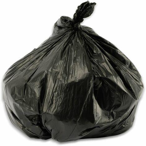 Müllbeutel, 60l, 10 Stück, schwarz