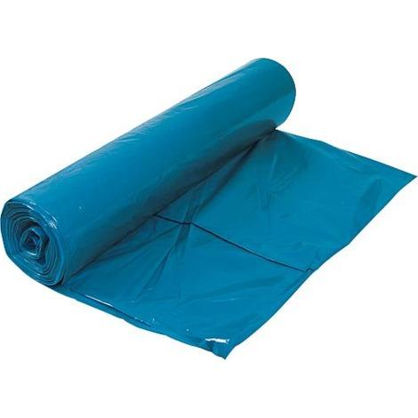 Müllbeutel, Mülltüten, Müllsäcke, Restmüll Säcke blau - 25 Stück - Größe 700 x 1100mm Wilpeg - 4885