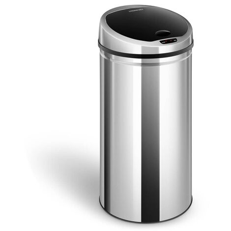 Mülleimer Mit Sensor Abfalleimer Automatischer Mülleimer Edelstahl Automatik 50L