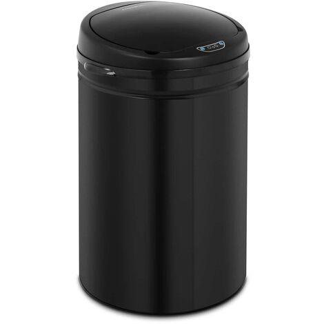 Mülleimer mit Sensor automatischer Abfalleimer 30 L Inneneimer Karbonstahl