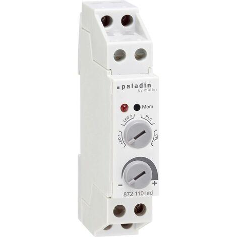 Müller 23384 Dimmer da guida DIN Adatto per lampadina: Lampadina LED, Lampadina ad incandescenza, Lampadina alogena,