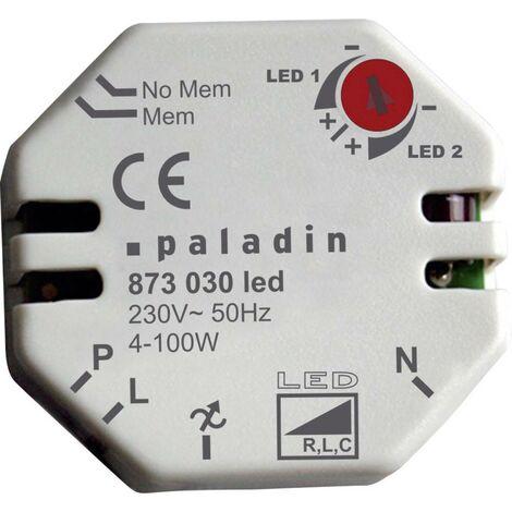 Müller 873030 Unterputz Dimmer Geeignet für Leuchtmittel: LED-Lampe Weiß A547951