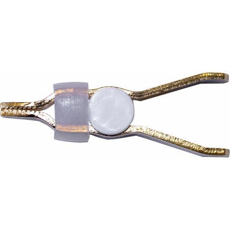 Mueller BU-78K Kelvin Clip Gold Plated Brass 10A