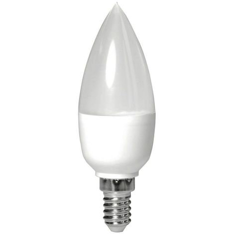Müller-Licht 5,5W LED Kerze E14 MATT 40W Licht Glühbirne 2700K warmweiß 400227