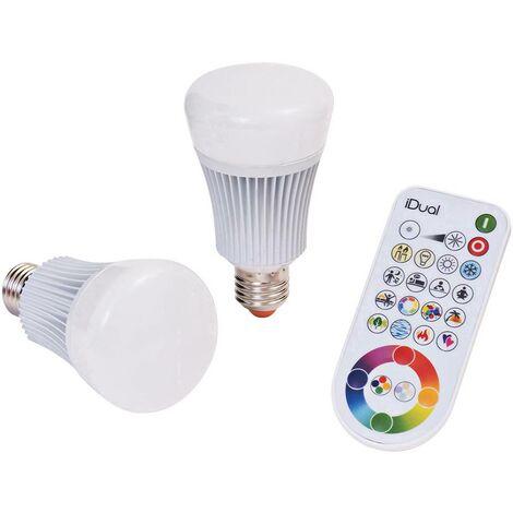 Müller Licht iDual Kit de démarrage éclairage E27 11W EEC: A (A++ - E) E27 11 W RVBB