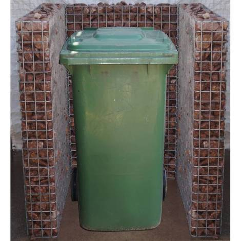 Mülltonnenbox 1 Tonne